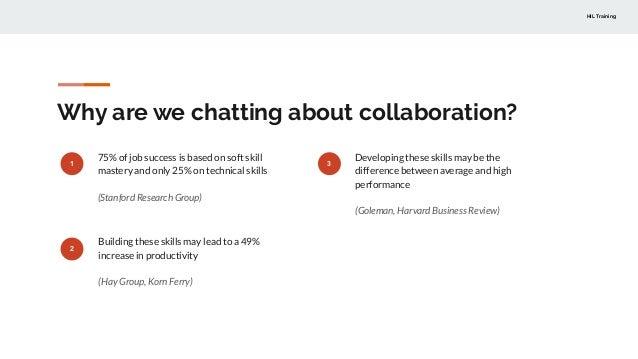 Improv(e) collaboration in your team Slide 3