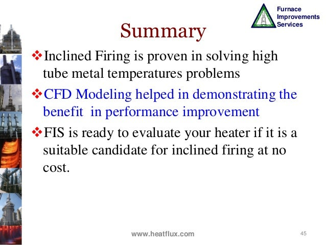 Improve Fired Heaters Performance And Reliabilty