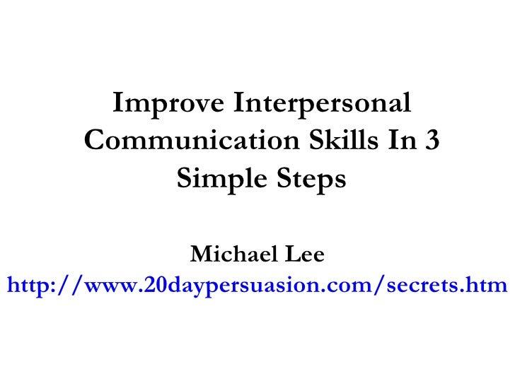increase people interpersonal skills - photo #30