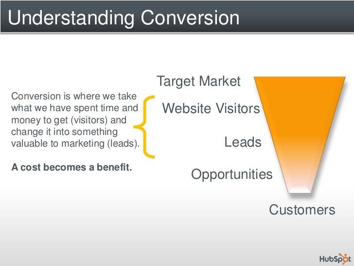 Target Benefit Hub >> Understanding Conversion Target Market Conversion
