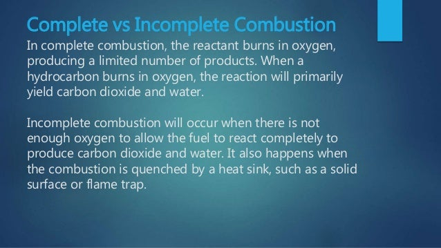 Improvement In Combustion Process