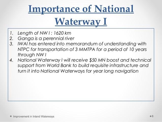 importance of waterways