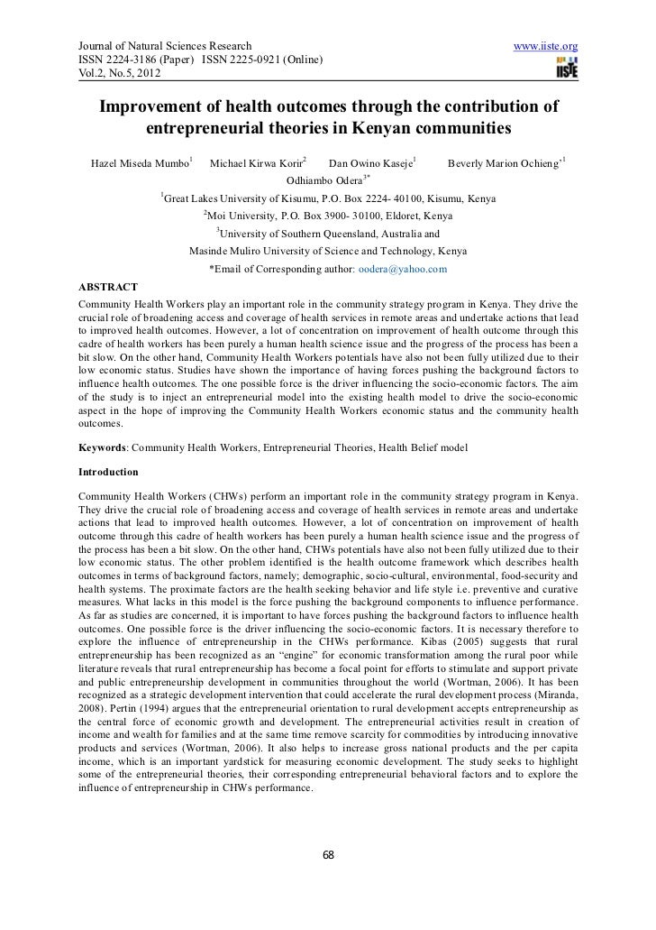 Journal of Natural Sciences Research                                                                    www.iiste.orgISSN ...