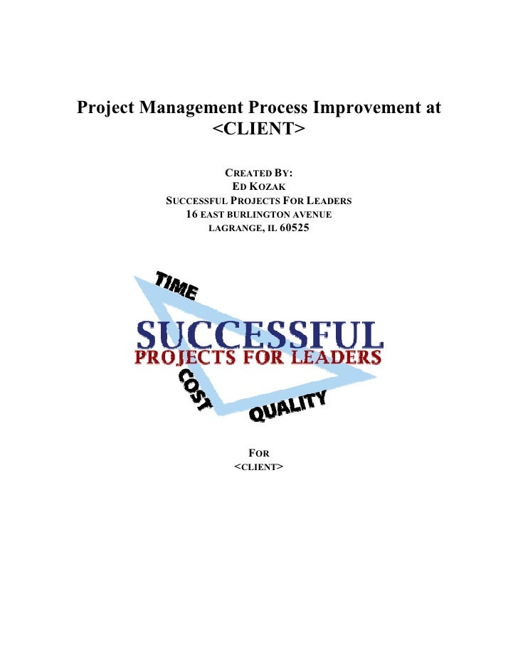 Improvement of Hospital Project Cost and Schedule Mgmt Final Rpt