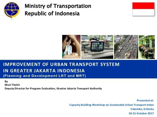 Improvement Of Urban Transport System