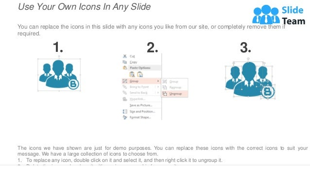 Use Your Own Icons In Any Slide You can replace the icons in this slide with any icons you like from our site, or complete...
