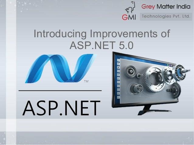 Introducing Improvements of ASP.NET 5.0