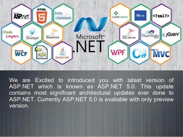 Introducing Improvements of ASP.NET 5.0 Slide 3