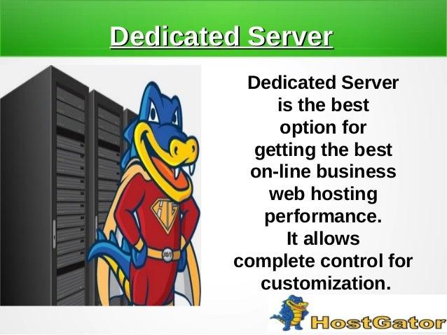 Improve Online Business Performance By Dedicated Server Slide 2