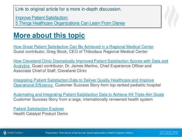 patient satisfaction in healthcare pdf