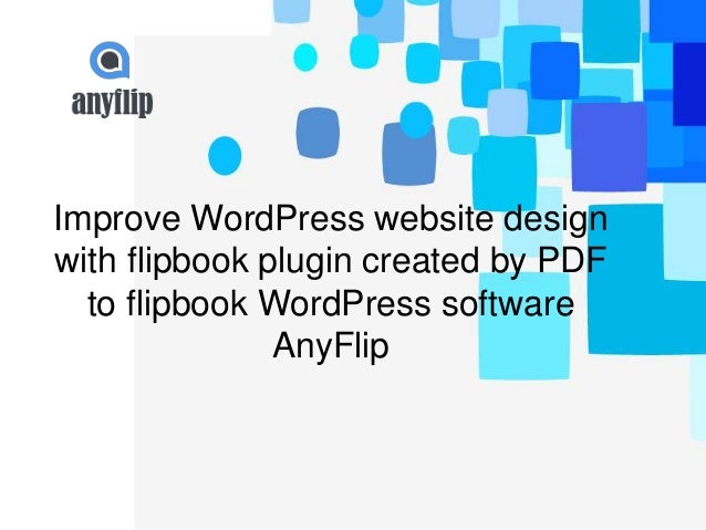 Improve WordPress website design with flipbook plugin ...
