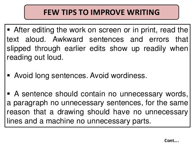 What makes sentences awkward and how to fix them