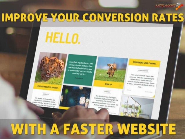 Improve Your Conversion Rates With a Faster Website