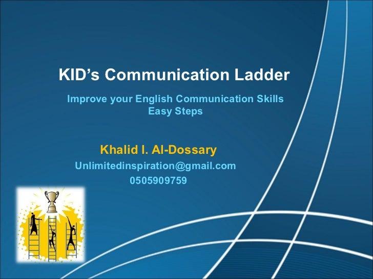 thesis about english communication skills