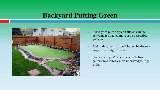 Backyard ...