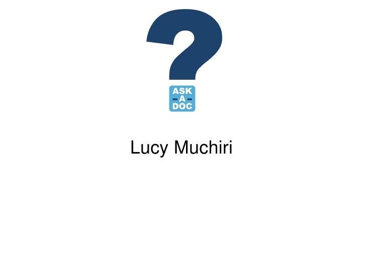 Lucy Muchiri