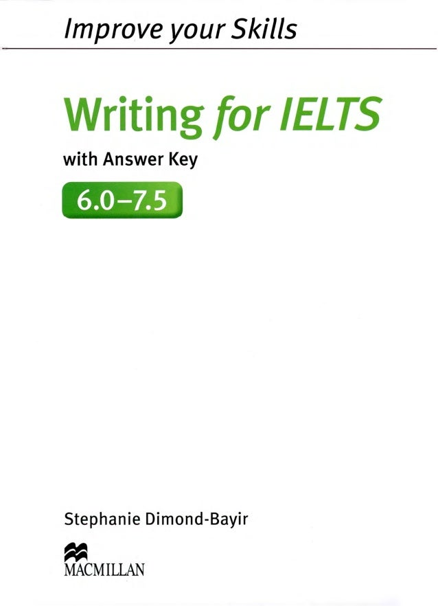 Improve your skills writing for ilets