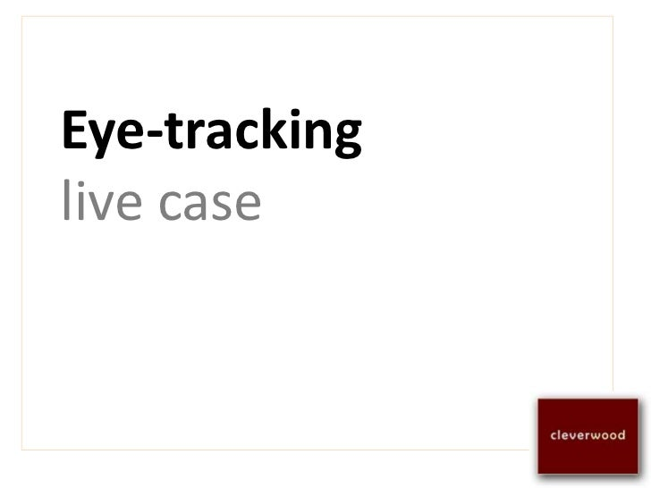 Improve your website user experience with eye tracking