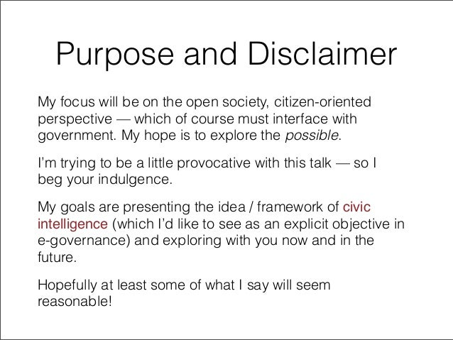 Improving Civic Intelligence: Repairing the Engine on a Moving Car? Slide 3