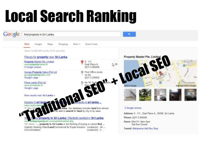 how to search google not local