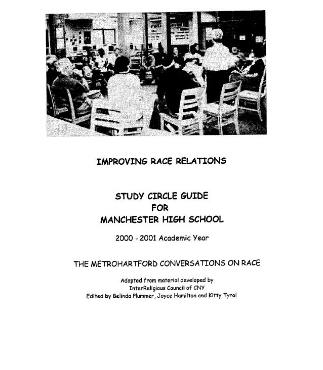 Improving Race Relations for Manchester High School
