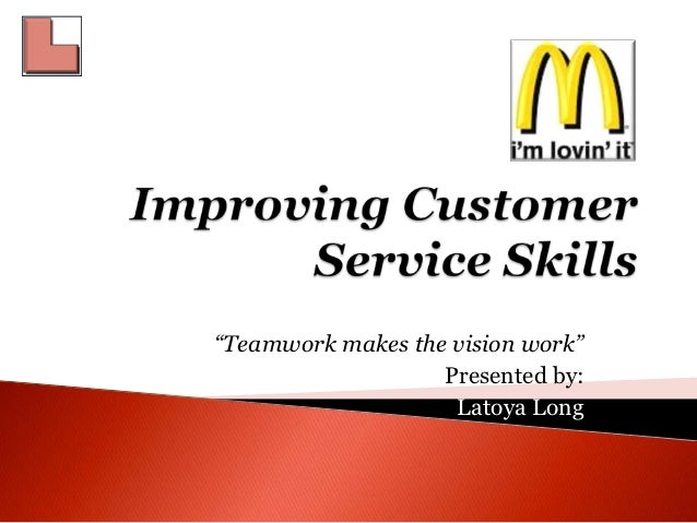 Improving customer service skills final