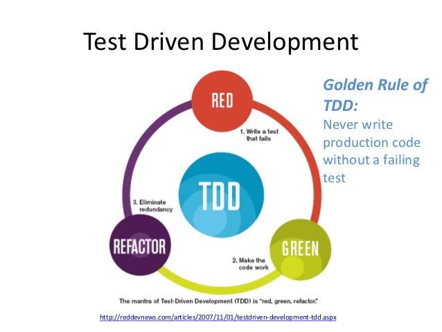 Improving Design Through Test Driven Development (TDD)