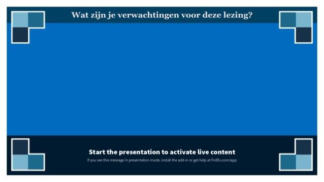 "ETHISCHE LEARNING ANALYTICS: EEN UTOPIE?"" Tinne De Laet, KU Leuven"