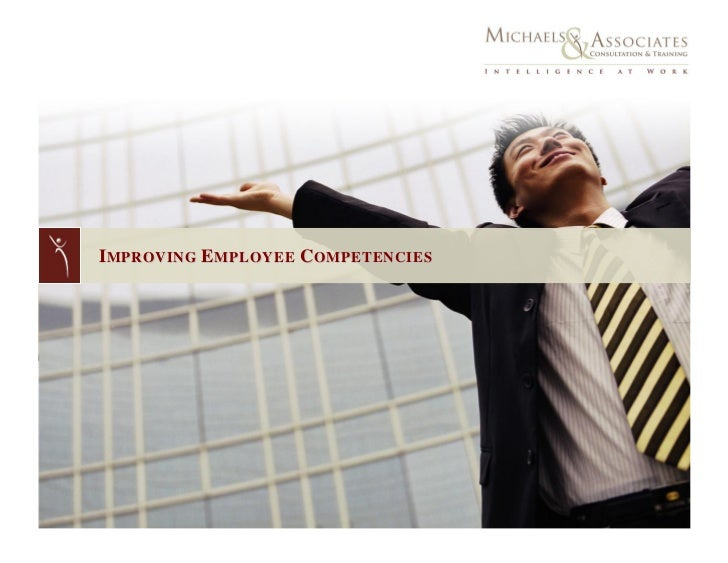 IMPROVING EMPLOYEE COMPETENCIES