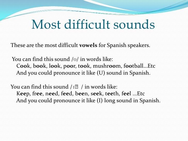 Improving English Pronunciation