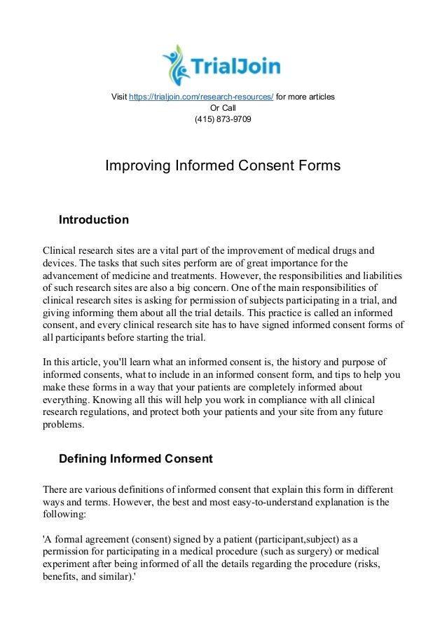 improvinginformedconsentforms1638jpgcb 1499113460 – Informed Consent Form