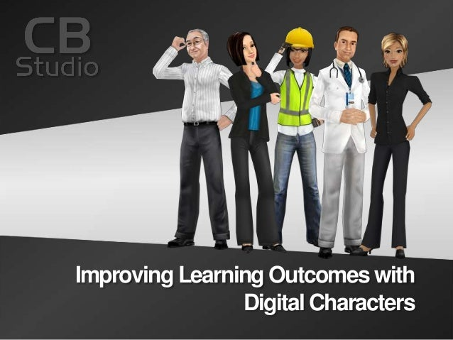 Improving Learning Outcomes with Digital Characters