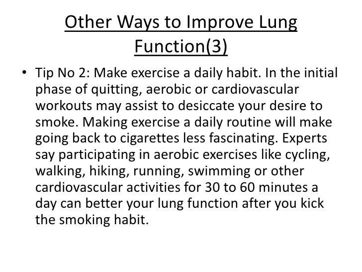 Running After Smoking