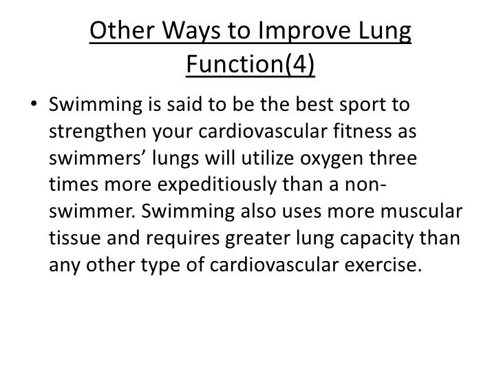 Improving Lung Function After Smoking Cessation