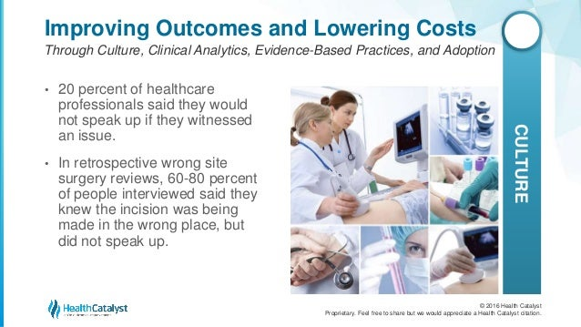 Improving Patient Safety and Quality Through Culture