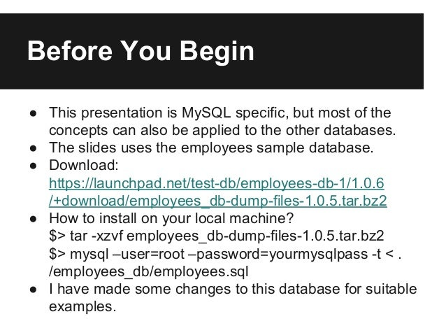 MySQL Indexing : Improving Query Performance Using Index (Covering In…