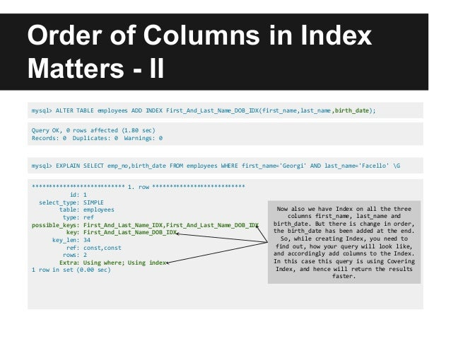 mysql alter index_MySQL Indexing : Improving Query Performance Using Index (Covering In…