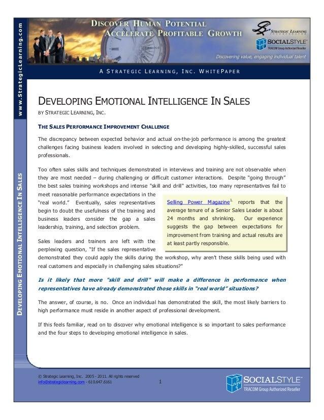 www.StrategicLearning.com                                                                                A STRATEGIC LEARN...