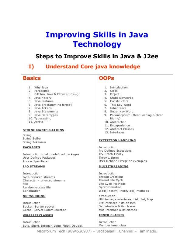 best java training center in chennai