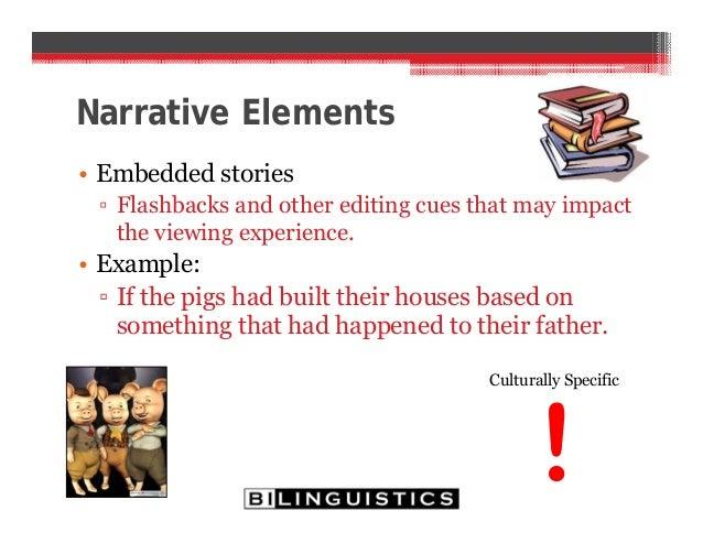 embedded narrative