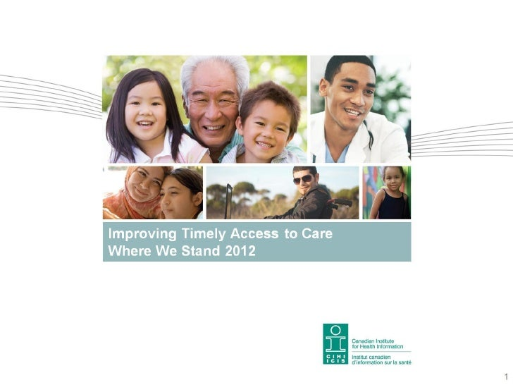 Improving Timely Access