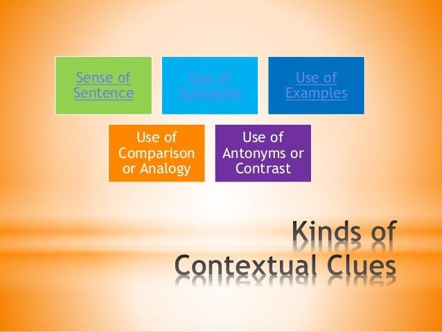 Improving Vocabulary Through Contextual Clues
