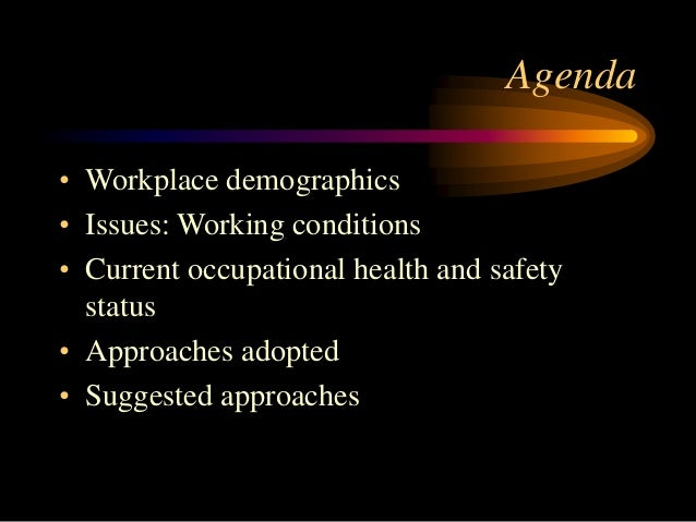 Improving workplace safety in developing countries Slide 2