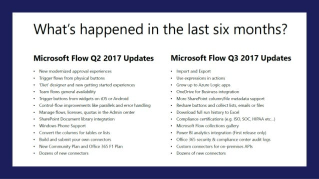 Improving your productivity using Microsoft Flow and