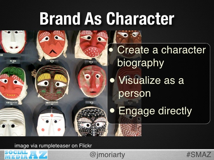 Brand As Character                                    • Create a character                                      biography ...