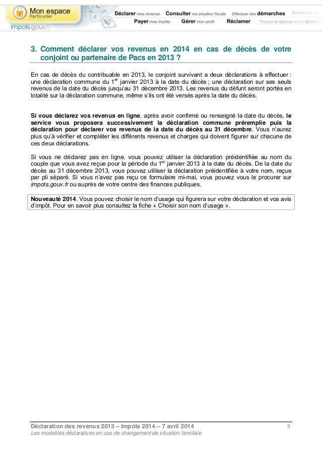 Declaration De Revenus Apres Deces Du Conjoint Sicilfly