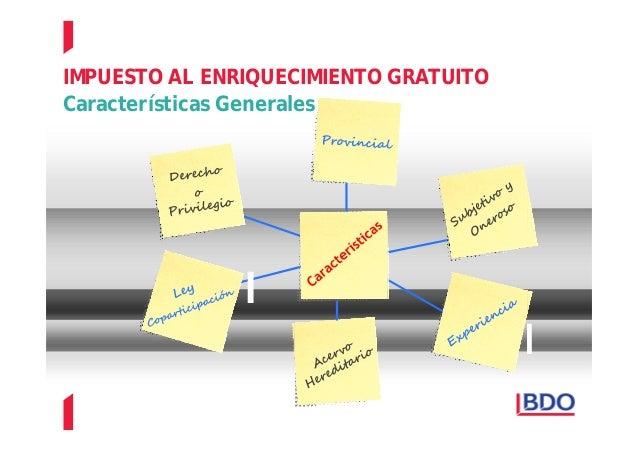 IMPUESTO A LA TRANSMISION GRATUITA DE BIENES Slide 2
