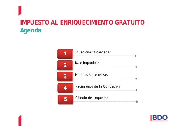 IMPUESTO A LA TRANSMISION GRATUITA DE BIENES Slide 3