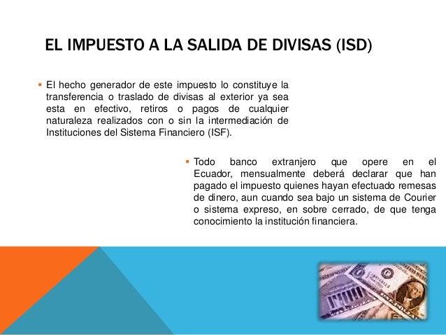 Impuesto a la salida de capital Slide 2