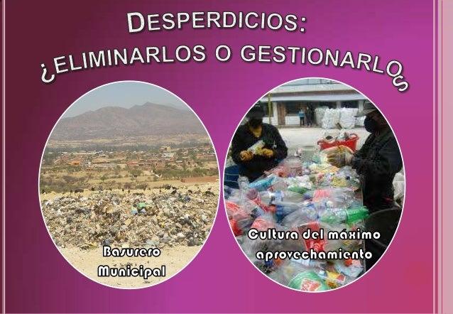 Impulsamos desarrollo gracias al reciclaje Slide 3